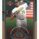 Barry Zito 2004 Upper Deck Diamond Collection Card #62 Oakland Athletics/San Francisco Giants