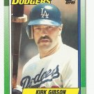 Kirk Gibson 1990 Topps Card #150 Los Angeles Dodgers