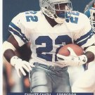Emmitt Smith 1991 Pro Set Spanish Card #54 Dallas Cowboys