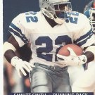 Emmitt Smith 1991 Pro Set Card #485 Dallas Cowboys