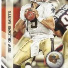 Drew Brees 2010 Panini Gridiron Gear Card #91 New Orleans Saints/San Diego Chargers