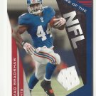 Ahmad Bradshaw 2011 Prestige Stars of the NFL Jersey Card #2 New York Giants/Indianapolis Colts