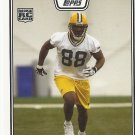Jermichael Finley 2008 Topps Rookie Card #383 Green Bay Packers