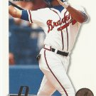 Dave Justice 1995 Score Summit Edition Card #111 Atlanta Braves