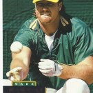 Mark McGwire 1994 Pinnacle Card #300 Oakland Athletics/St. Louis Cardinals
