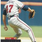 Tom Glavine 1994 Pinnacle Card #284 Atlanta Braves