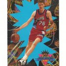 Shawn Bradley 1994 Fleer NBA Rookie Sensation Rookie #2 Philadelphia 76ers