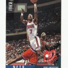 Kenny Anderson 1995 Collector's Choice Scouting Report Card #337 New Jersey Nets