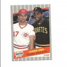 Chris Sabo/Bobby Bonilla 1989 Fleer Cannon Arms Card #637 Pittsburgh Pirates/Cincinnati Reds