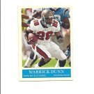 Warrick Dunn 2009 Upper Deck Philadelphia  #183 Tampa Bay Buccaneers