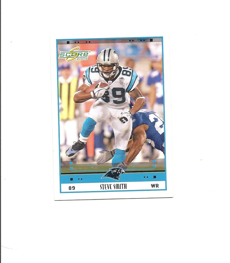 Steve Smith 2005 Score 45 Carolina Panthers Baltimore Ravens