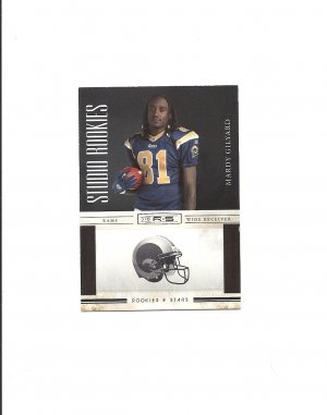 Mardy Gilyard 2010 Rookies and Stars Studio Rookie #30 St. Louis Rams/Philadelphia Eagles