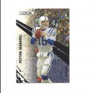 Peyton Manning 2010 Panini Rookies and Stars ELE Card #152 Indianapolis Colts/Denver Broncos