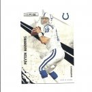 Peyton Manning 2010 Panini Rookies and Stars Card #64 Indianapolis Colts/Denver Broncos