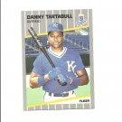 Danny Tartabull 1989 Fleer Card #295 Kansas City Royals/New York Yankees