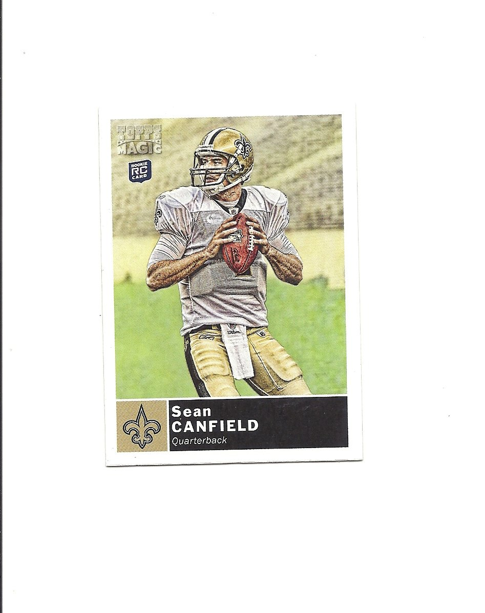 Sean Canfield 2010 Topps Magic Rookie Card #146 New Orleans Saints