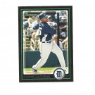 Austin Jackson 2010 Bowman Rookie Card #198 Detroit Tigers