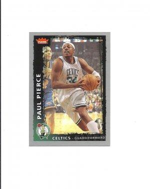 Paul Pierce 2009 Fleer Card #3 Boston Celtics/Brooklyn Nets