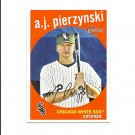 A.J. Pierzynski 2008 Topps Heritage Card #536 Chicago White Sox