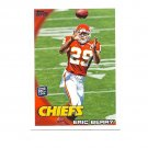 Eric Berry 2010 Topps Rookie Card #395 Kansas City Chiefs