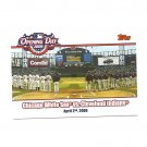 Opening Day 2006 Topps Card #OD-WI Chicago White Sox/Cleveland Indians