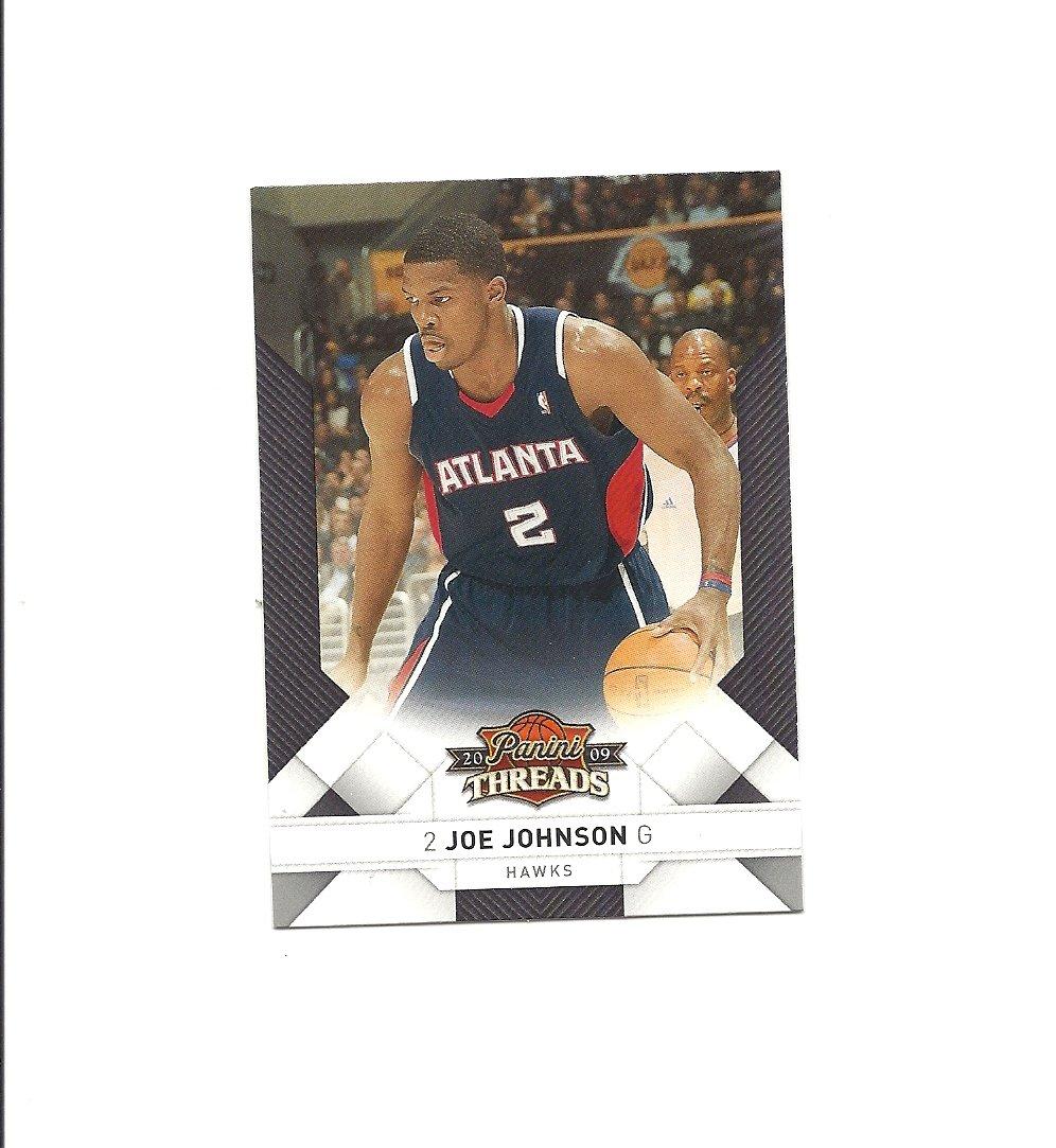 Joe Johnson 2009-10 Panini Threads Card #22 Atlanta Hawks/Brooklyn Nets