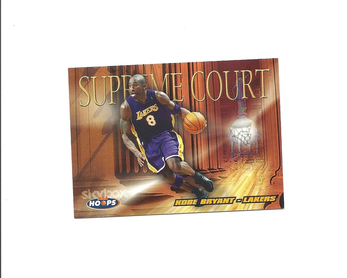 Kobe Bryant 2004-05 Hoops Supreme Court Card #1 Los Angeles Lakers