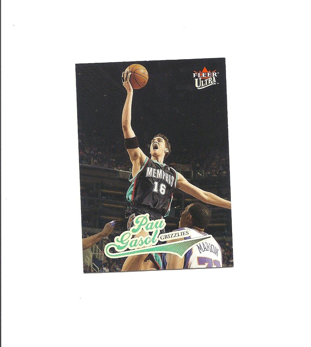 Pau Gasol 2004-05 Fleer Card #135 Memphis Grizzlies/Los Angeles Lakers