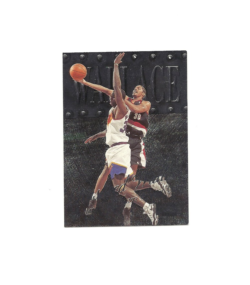 Rasheed Wallace 1998-99 Fleer Metal Universe Card #88 Portland Trailblazers/Detroit Pistons