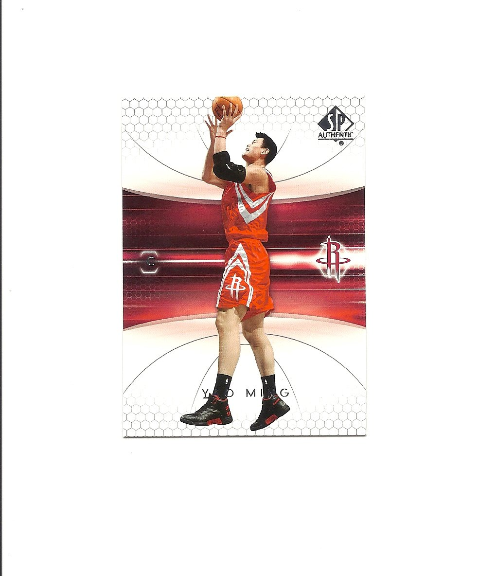 Yao Ming 2004-05 SP Authentic Card #30 Houston Rockets