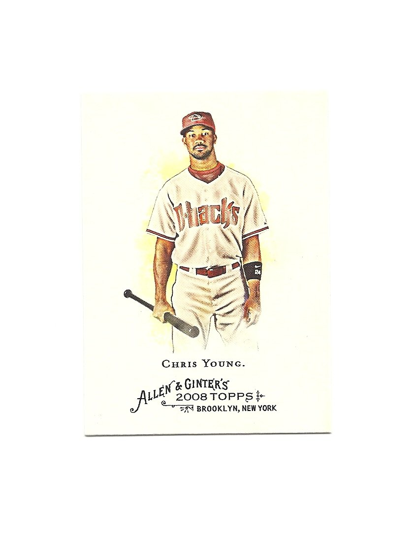 Chris Young 2008 Allen and Ginter Card #126 Arizona Diamondbacks