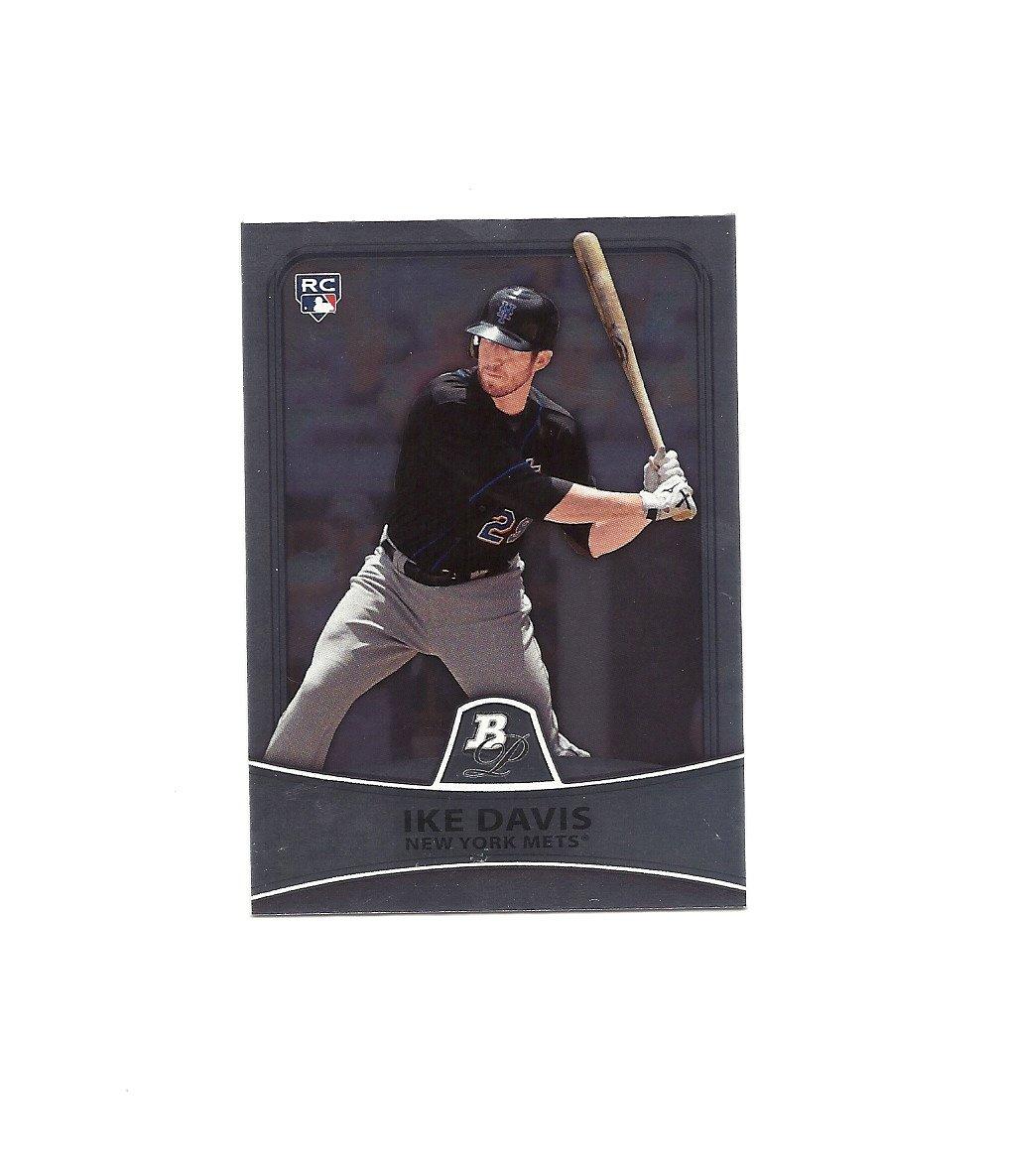 Ike Davis 2010 Bowman Platinum Rookie Card #66 New York Mets