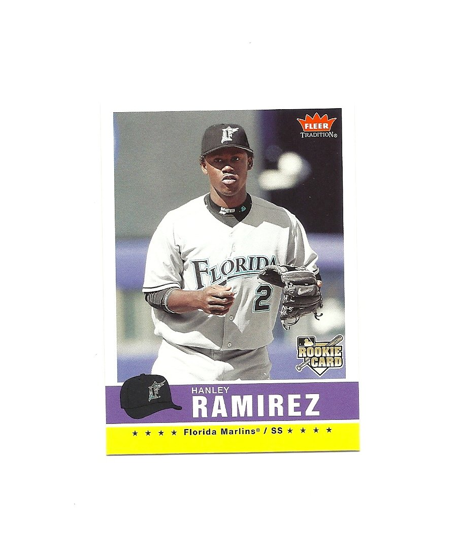 Hanley Ramirez 2006 Fleer Tradition Rookie #98 Miami Marlins/Los Angeles Dodgers