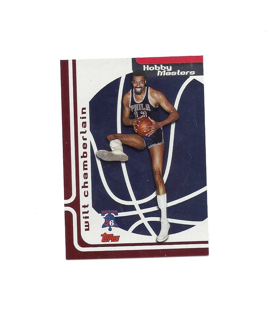 Wilt Chamberlain 2006-07 Topps Hobby Masters Card #HM18 Philadelphia 76ers