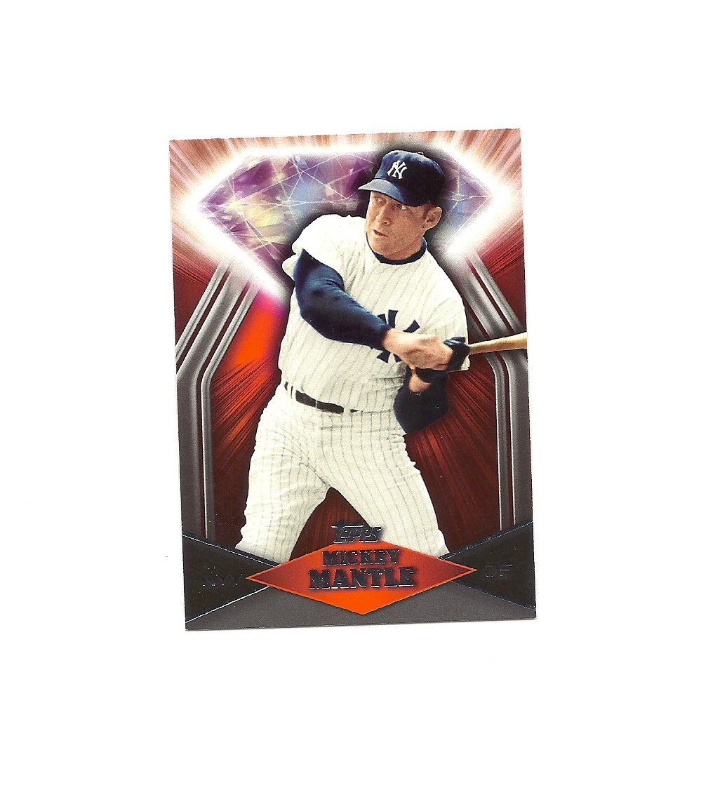 Mickey Mantle 2011 Topps Target Red Diamond Card #RDT7 New York Yankees