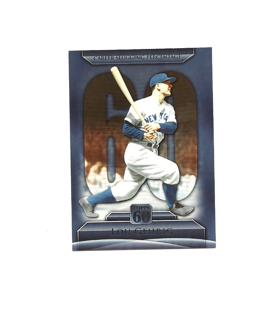 Lou Gehrig 2011 Topps 60 Card #T60-5 New York Yankees