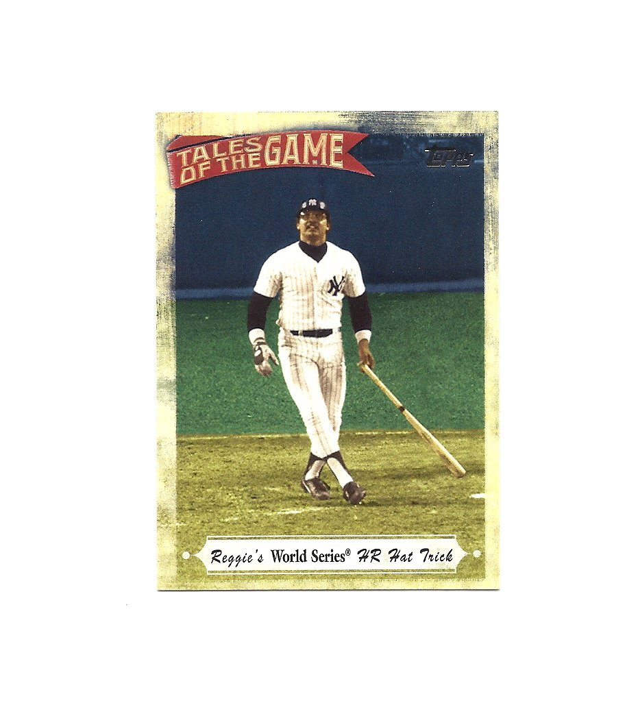 Reggie Jackson 2010 Topps Tales of the Game #TOG-14 New York Yankees