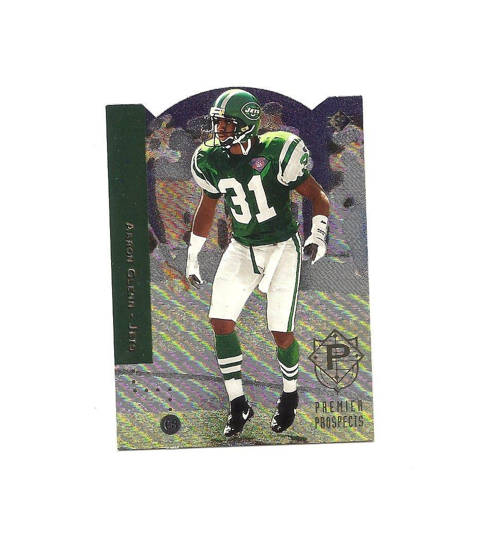 Aaron Glenn 1994 SP Diecuts Rookie Card #9 New York Jets