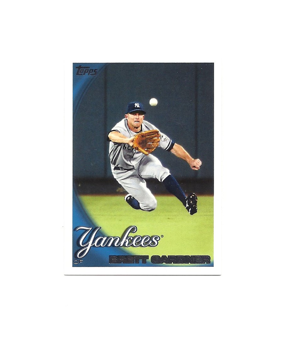 Brett Gardner 2010 Topps Card #547 New York Yankees