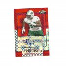 D'Brickashaw Ferguson 2006 Topps Finest XFractor Certified Auto Rookie #165 New York Jets