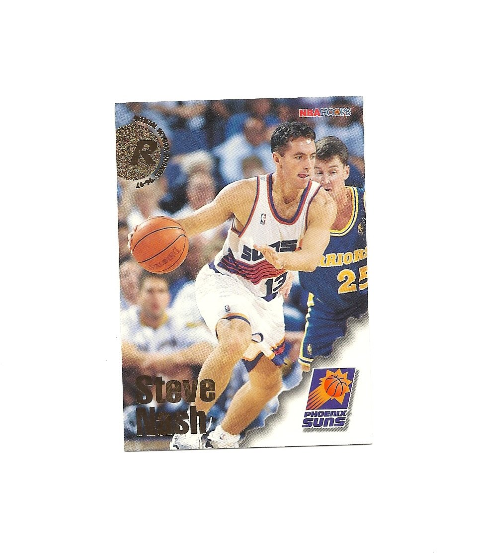 Steve Nash 1996-97 Skybox Hoops Rookie Card #304 Phoenix Suns