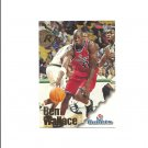 Ben Wallace 1996-97 Skybox Hoops Rookie Card #314 Detroit Pistons