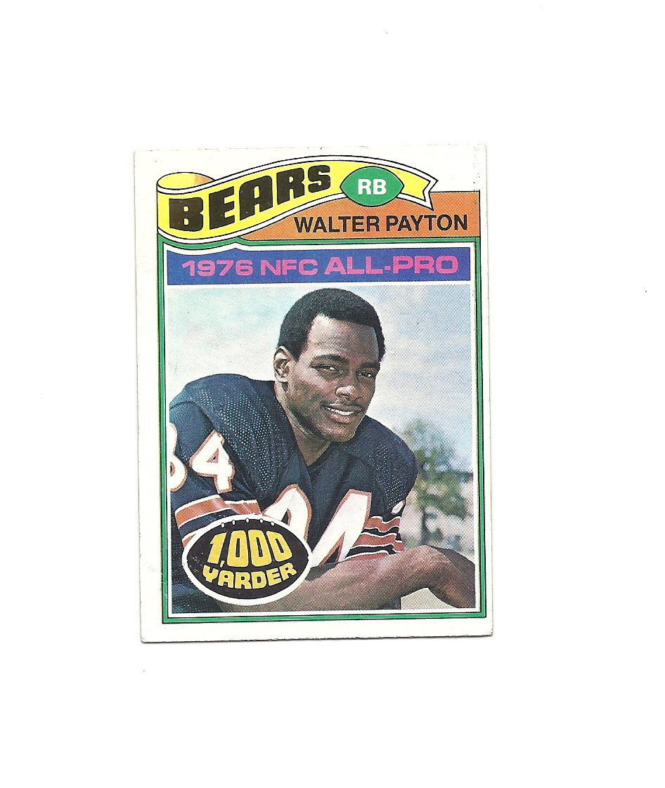 Walter Payton 1977 Topps Card #360 Chicago Bears