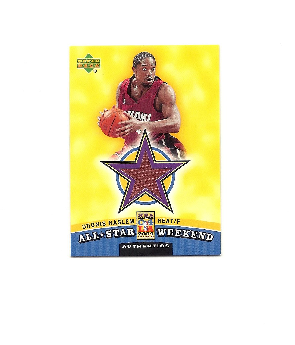 Udonis Haslem 2004-05 Upper Deck All-Star Weekend Authentics #ASW-UH Miami Heat