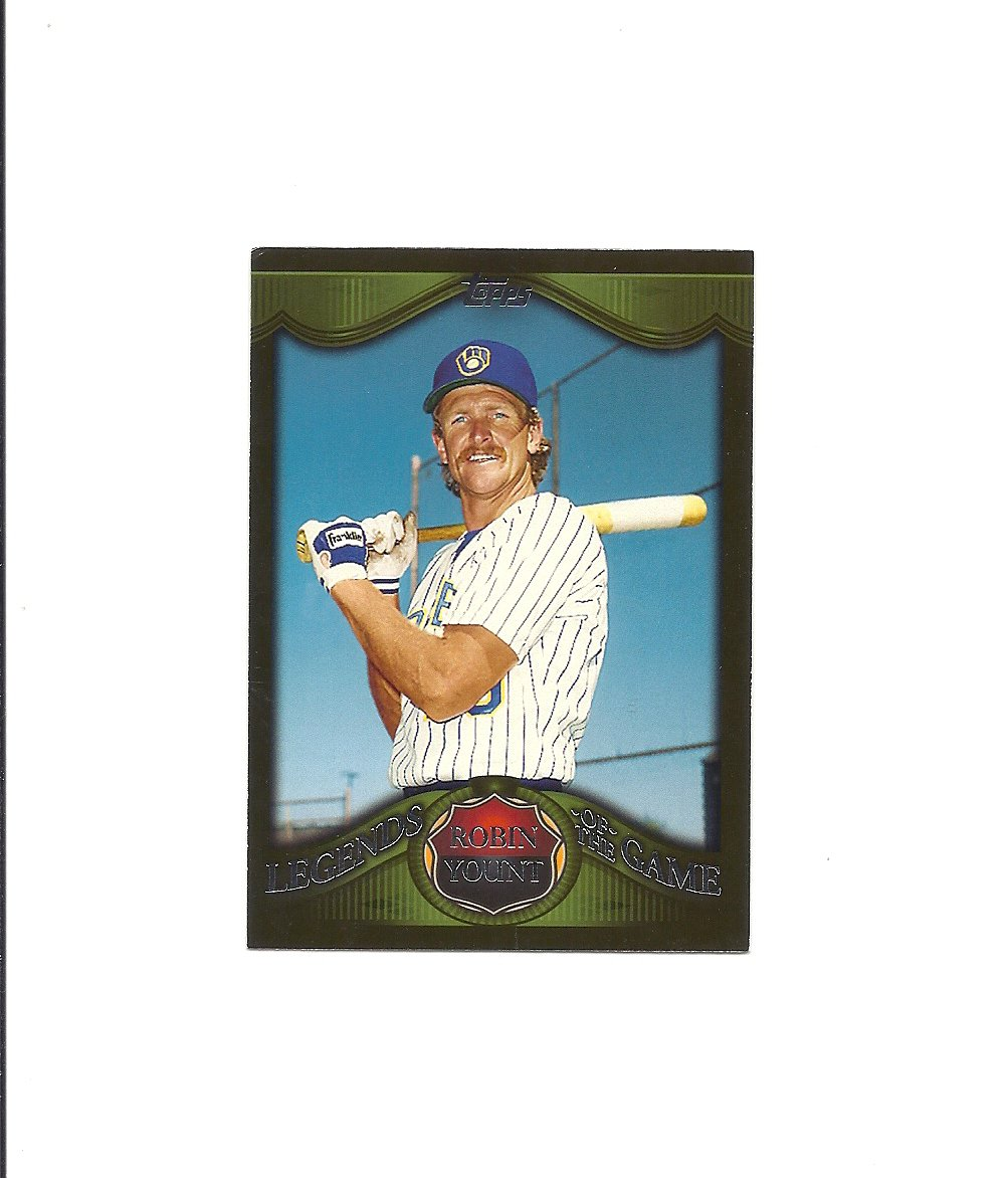 Robin Yount 2009 Legends of the Game #LG-RY Milwaukee Brewers