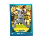 Zach Britton 2011 Bowman Chrome Blue Refractor Rookie #210 Baltimore Orioles