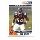 Von Miller 2011 Score Rookie #400 Denver Broncos