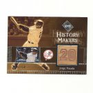Jorge Posada 2002 UD Diamond Connection History Makers Game-Used Bat #519 New York Yankees