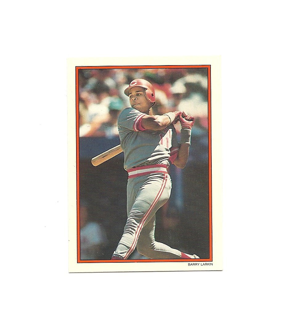 Barry Larkin 1990 Topps Glossy Send-Ins #5 Cincinnati Reds