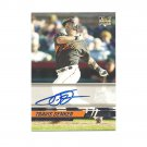 Travis Denker 2008 Stadium Club Rookie Auto #167 San Francisco Giants/Seattle Mariners